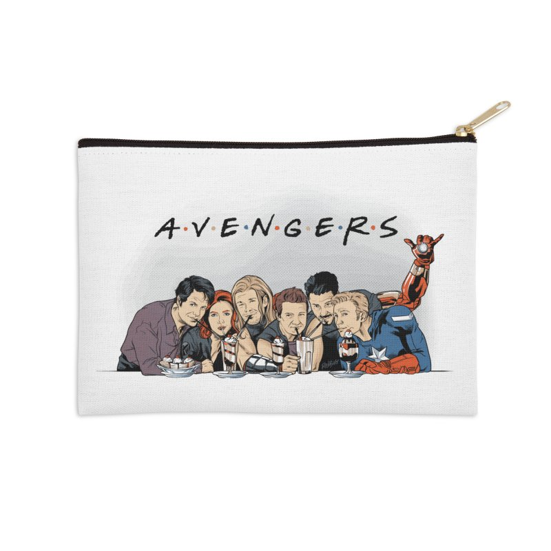 Avengers Accessories Zip Pouch by Red Bug's Artist Shop