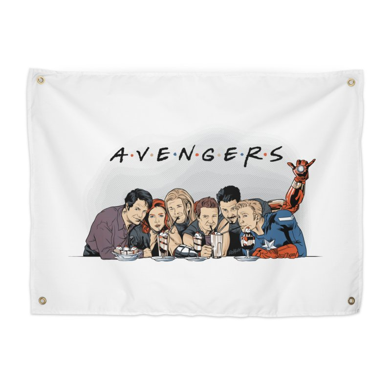 Avengers Home Tapestry by Red Bug's Artist Shop