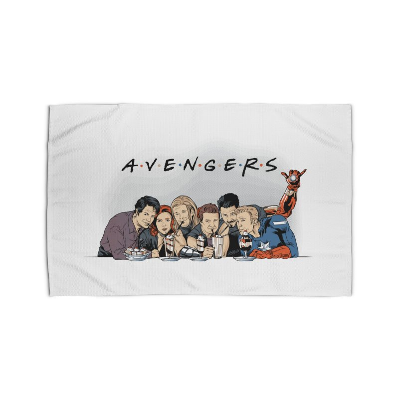 Avengers Home Rug by Red Bug's Artist Shop