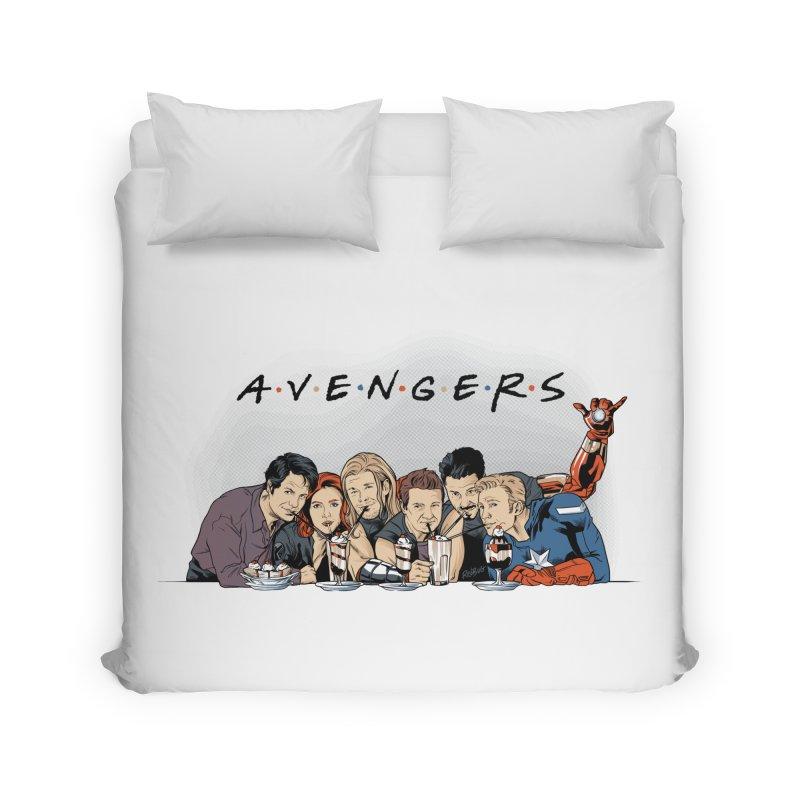 Avengers Home Duvet by Red Bug's Artist Shop