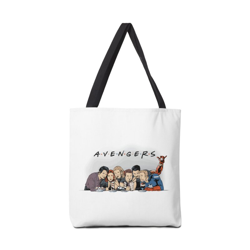 Avengers Accessories Tote Bag Bag by Red Bug's Artist Shop