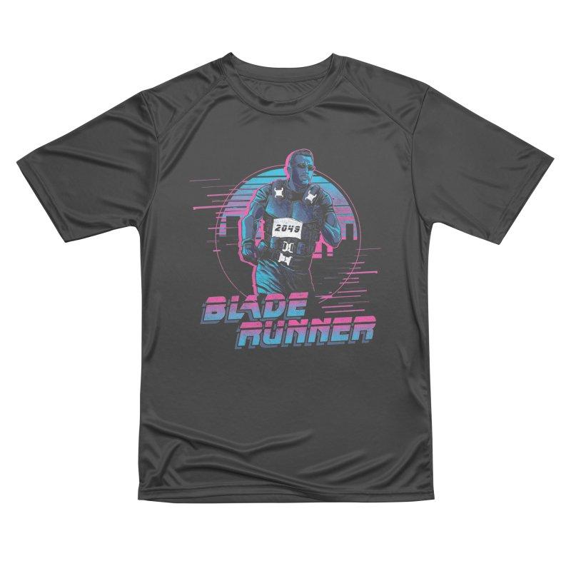 Blade Runner Women's Performance Unisex T-Shirt by Red Bug's Artist Shop