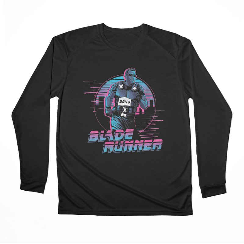 Blade Runner Men's Performance Longsleeve T-Shirt by Red Bug's Artist Shop