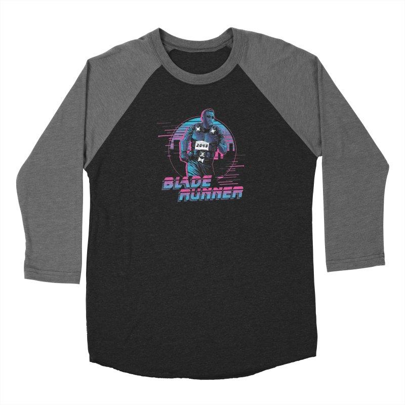 Blade Runner Men's Baseball Triblend Longsleeve T-Shirt by Red Bug's Artist Shop