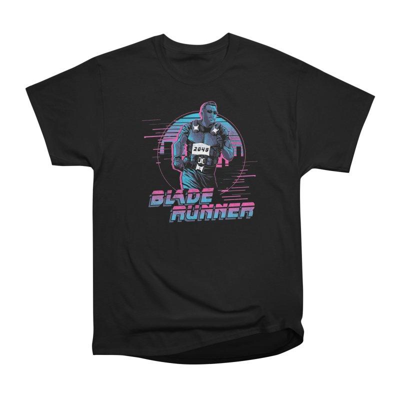 Blade Runner Men's Heavyweight T-Shirt by Red Bug's Artist Shop