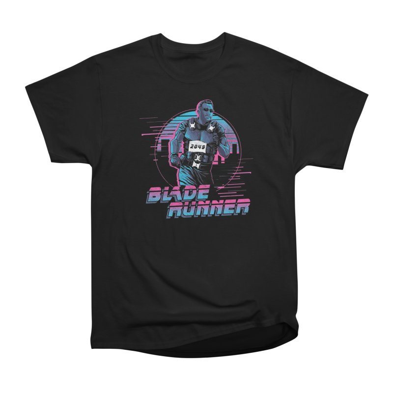 Blade Runner Women's Heavyweight Unisex T-Shirt by Red Bug's Artist Shop