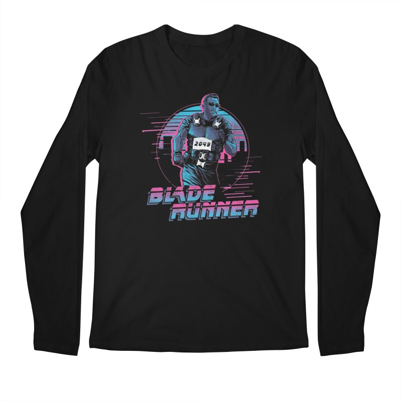 Blade Runner Men's Regular Longsleeve T-Shirt by Red Bug's Artist Shop