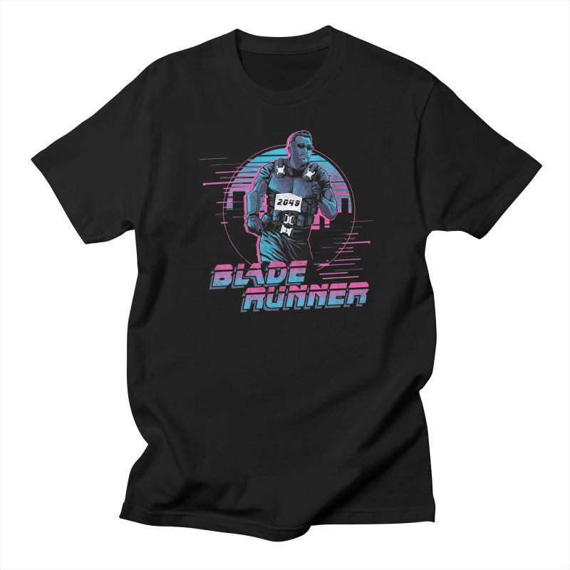 Blade Runner Men's Regular T-Shirt by Red Bug's Artist Shop
