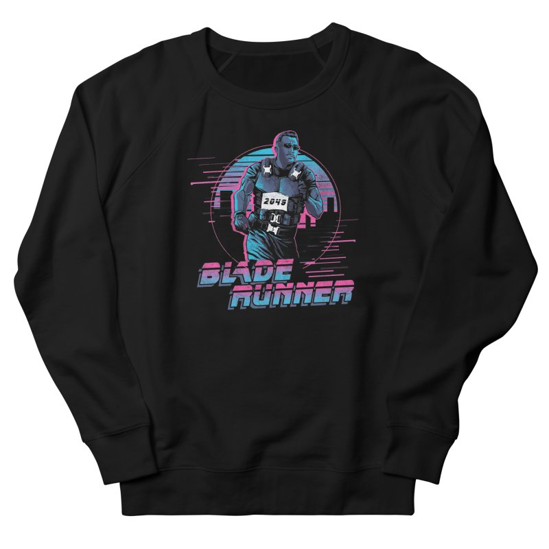 Blade Runner Men's French Terry Sweatshirt by Red Bug's Artist Shop