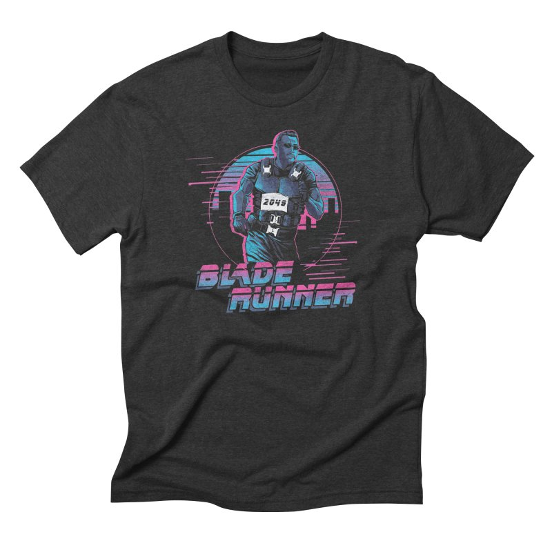 Blade Runner Men's Triblend T-Shirt by Red Bug's Artist Shop
