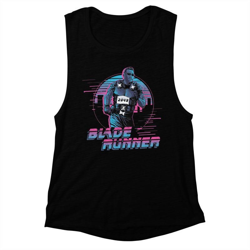 Blade Runner Women's Muscle Tank by Red Bug's Artist Shop