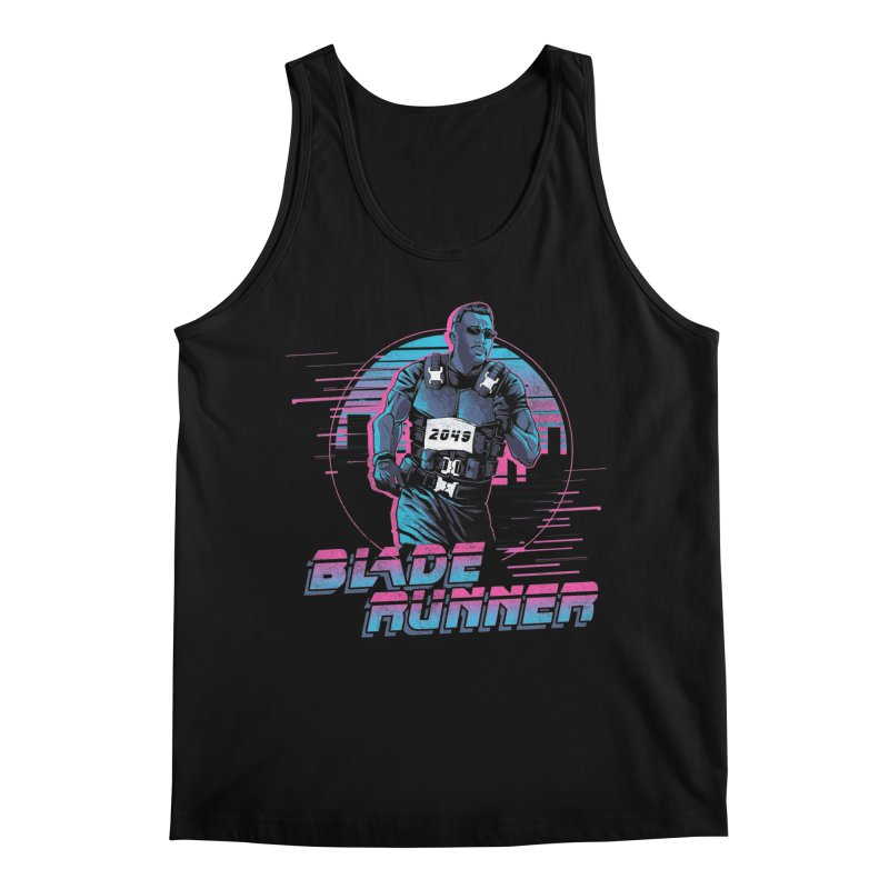 Blade Runner Men's Regular Tank by Red Bug's Artist Shop