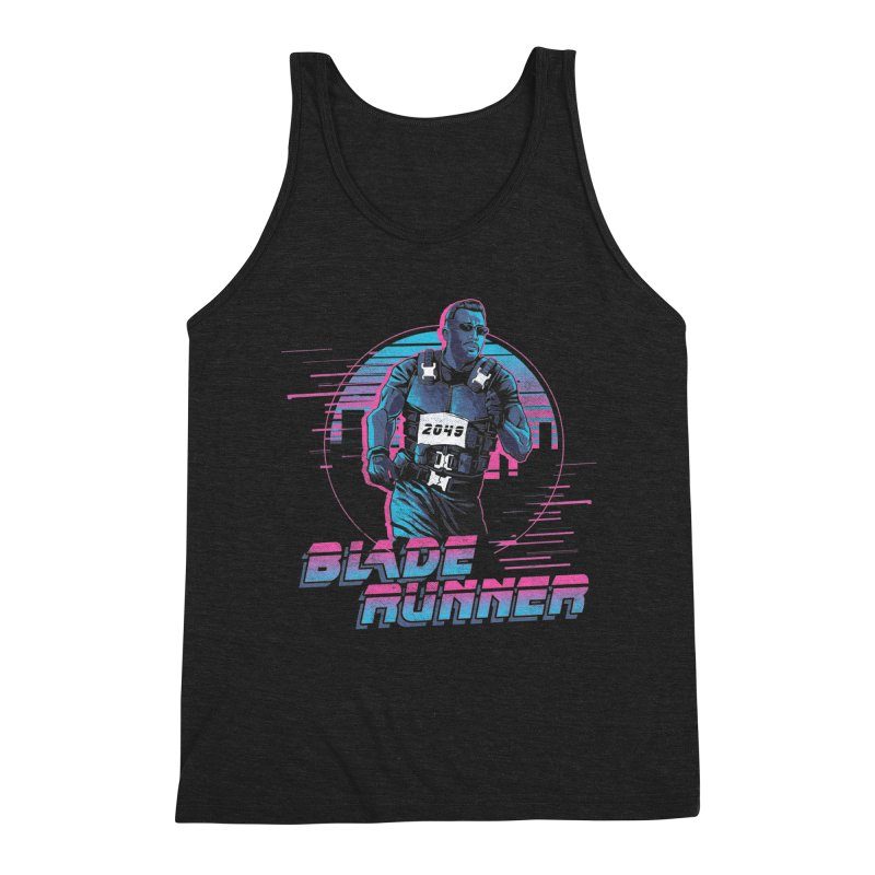 Blade Runner Men's Triblend Tank by Red Bug's Artist Shop