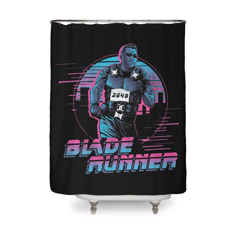 Blade Runner Home Shower Curtain by Red Bug's Artist Shop