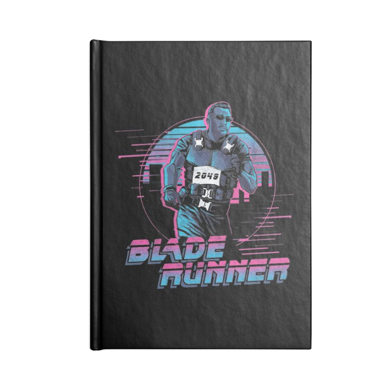 Blade Runner Accessories Lined Journal Notebook by Red Bug's Artist Shop
