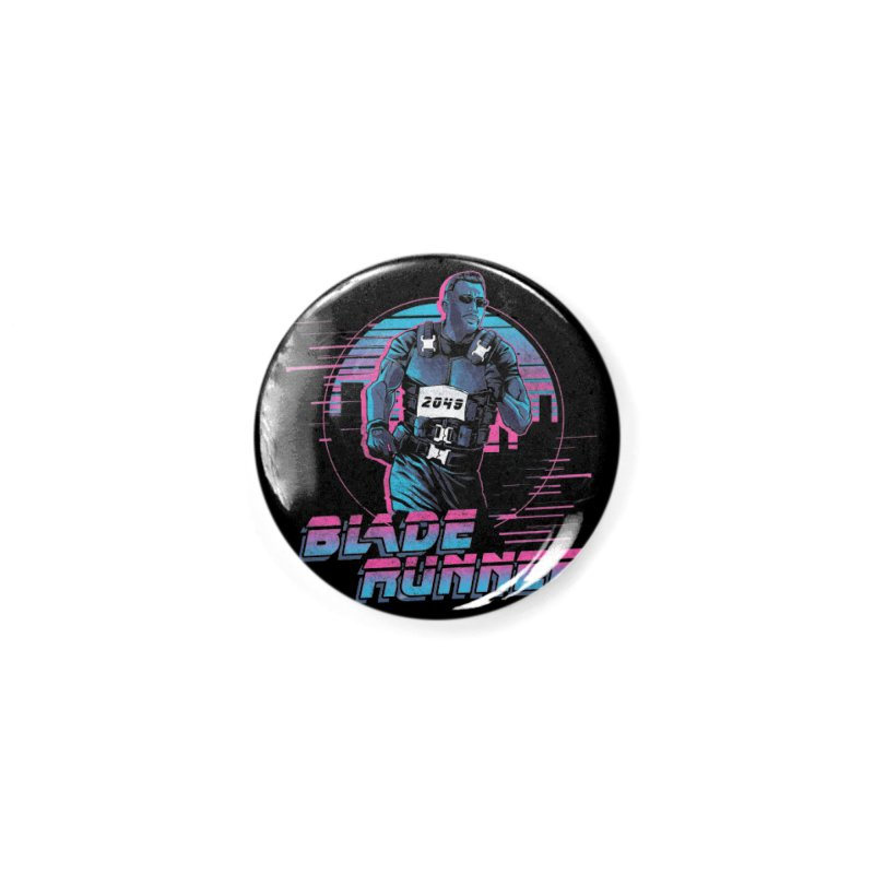 Blade Runner Accessories Button by Red Bug's Artist Shop