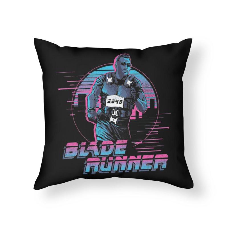Blade Runner Home Throw Pillow by Red Bug's Artist Shop