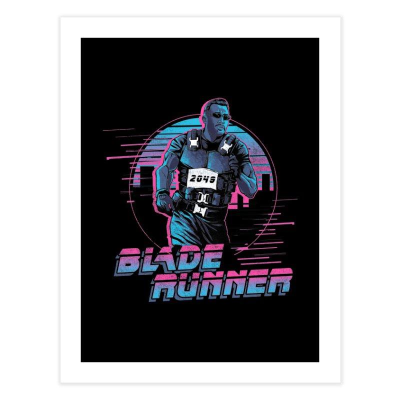 Blade Runner Home Fine Art Print by Red Bug's Artist Shop