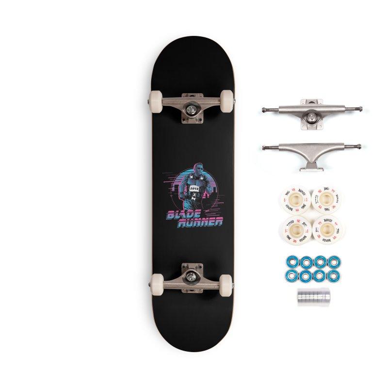 Blade Runner Accessories Complete - Premium Skateboard by Red Bug's Artist Shop