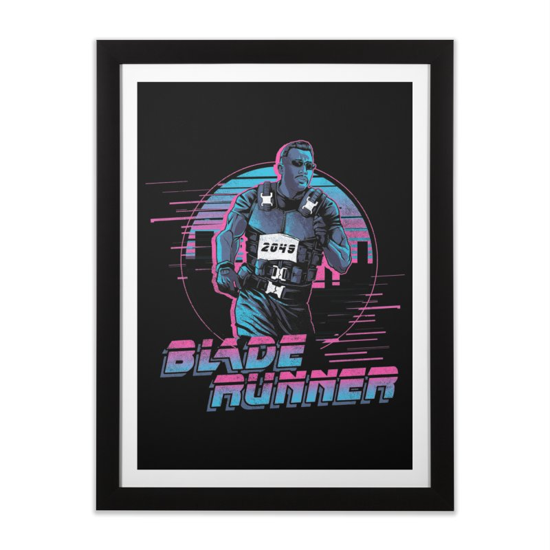 Blade Runner Home Framed Fine Art Print by Red Bug's Artist Shop