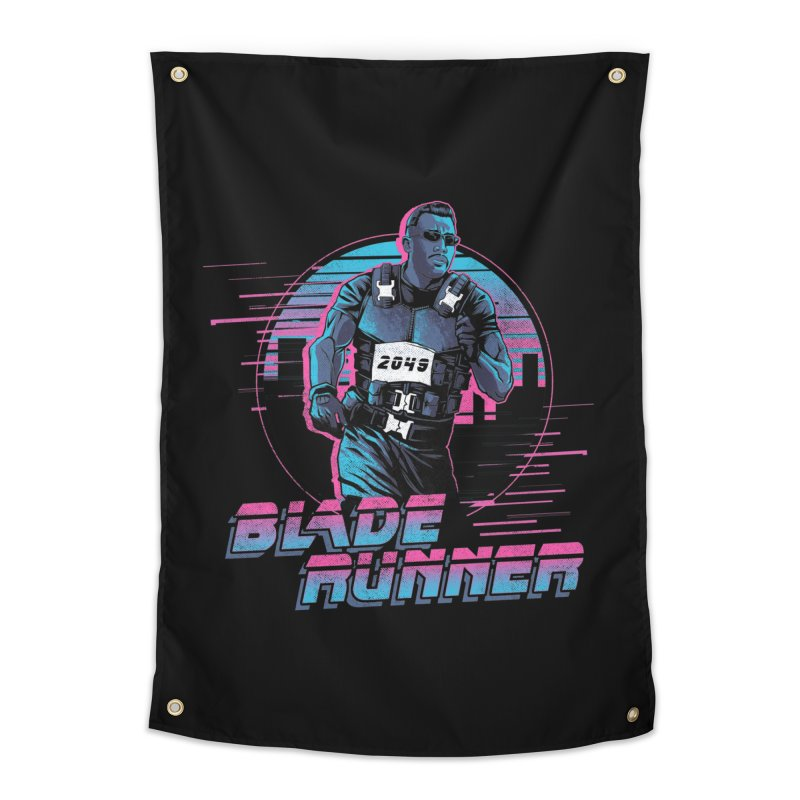 Blade Runner Home Tapestry by Red Bug's Artist Shop