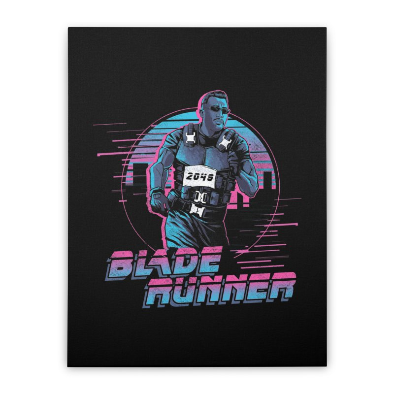 Blade Runner Home Stretched Canvas by Red Bug's Artist Shop