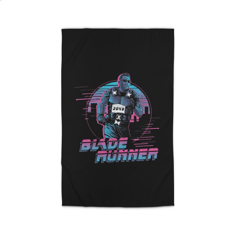 Blade Runner Home Rug by Red Bug's Artist Shop
