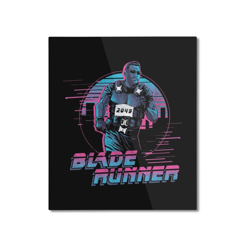 Blade Runner Home Mounted Aluminum Print by Red Bug's Artist Shop