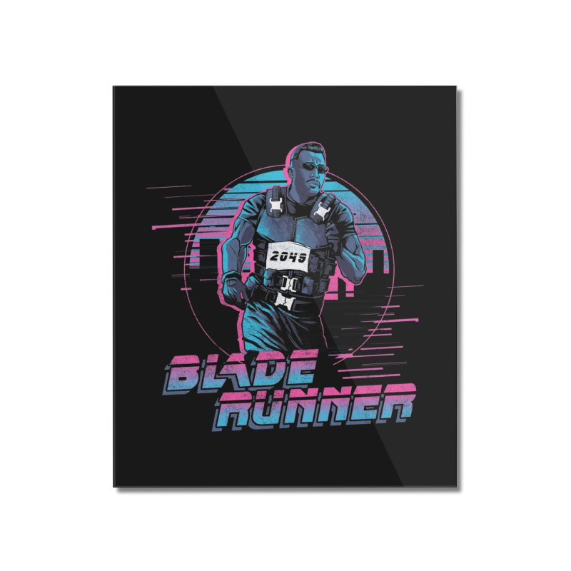 Blade Runner Home Mounted Acrylic Print by Red Bug's Artist Shop