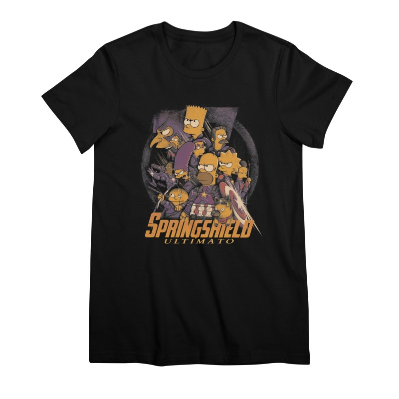 Springshield Women's Premium T-Shirt by Red Bug's Artist Shop