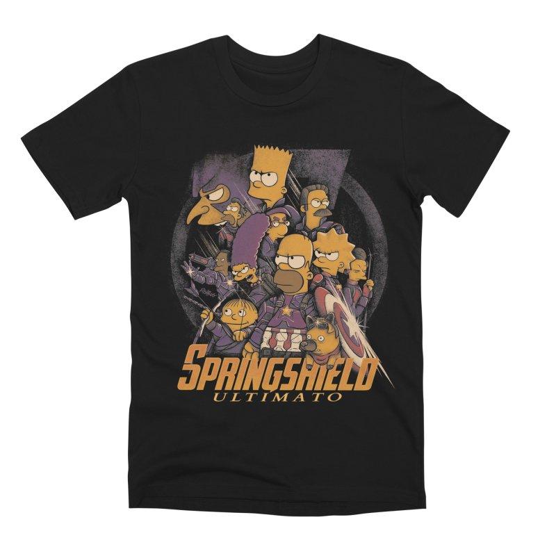 Springshield Men's Premium T-Shirt by Red Bug's Artist Shop