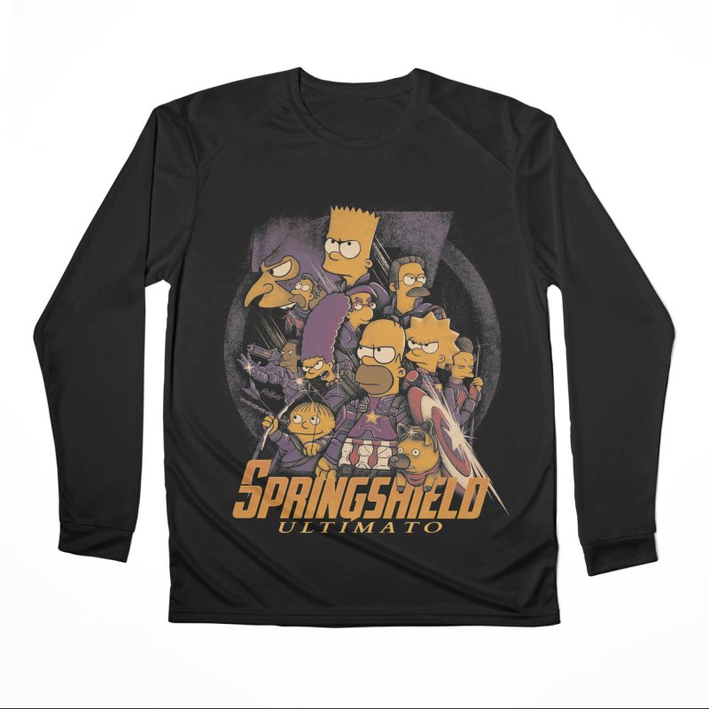 Springshield Men's Performance Longsleeve T-Shirt by Red Bug's Artist Shop