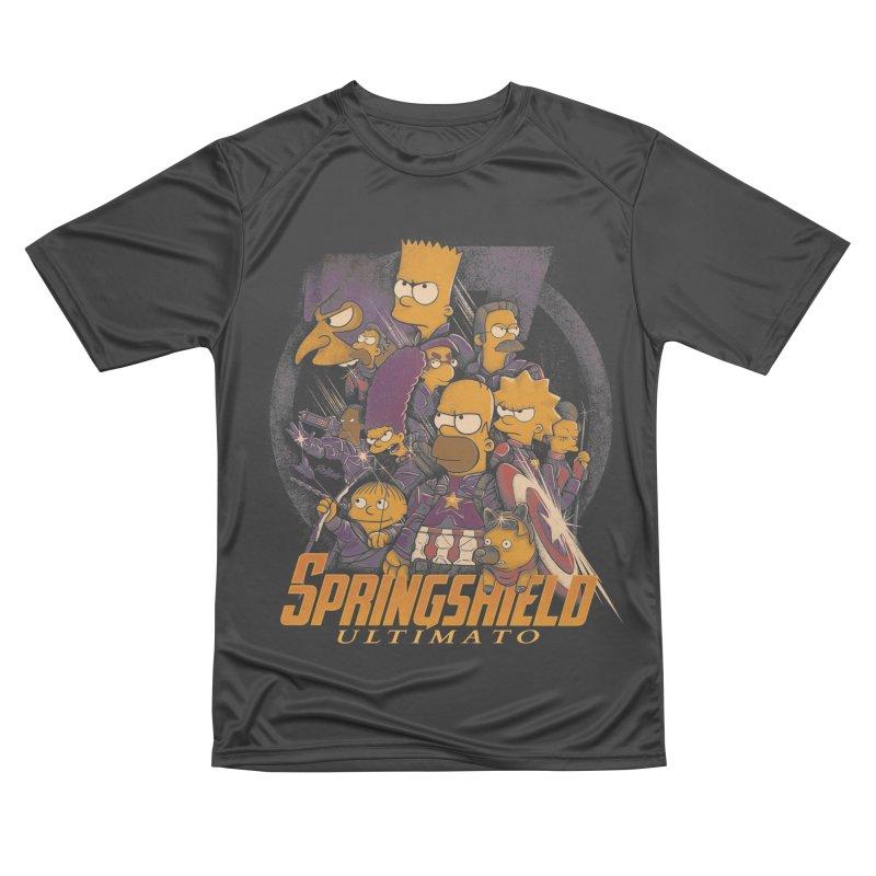Springshield Men's Performance T-Shirt by Red Bug's Artist Shop