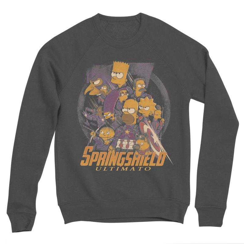 Springshield Men's Sponge Fleece Sweatshirt by Red Bug's Artist Shop