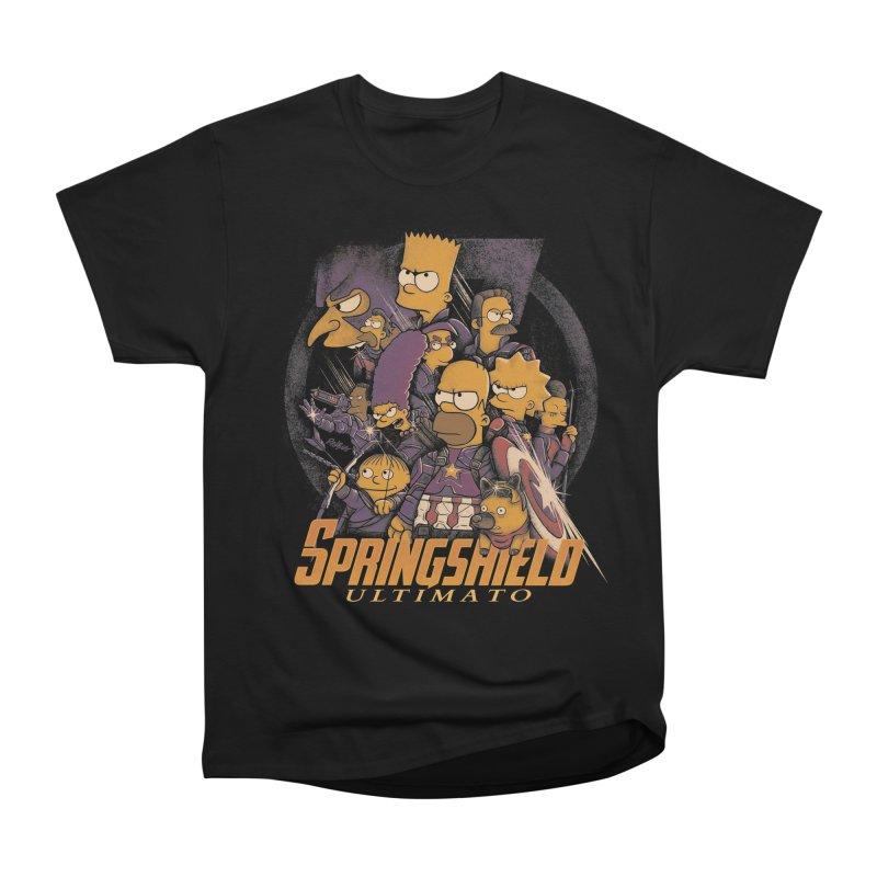 Springshield Men's Heavyweight T-Shirt by Red Bug's Artist Shop