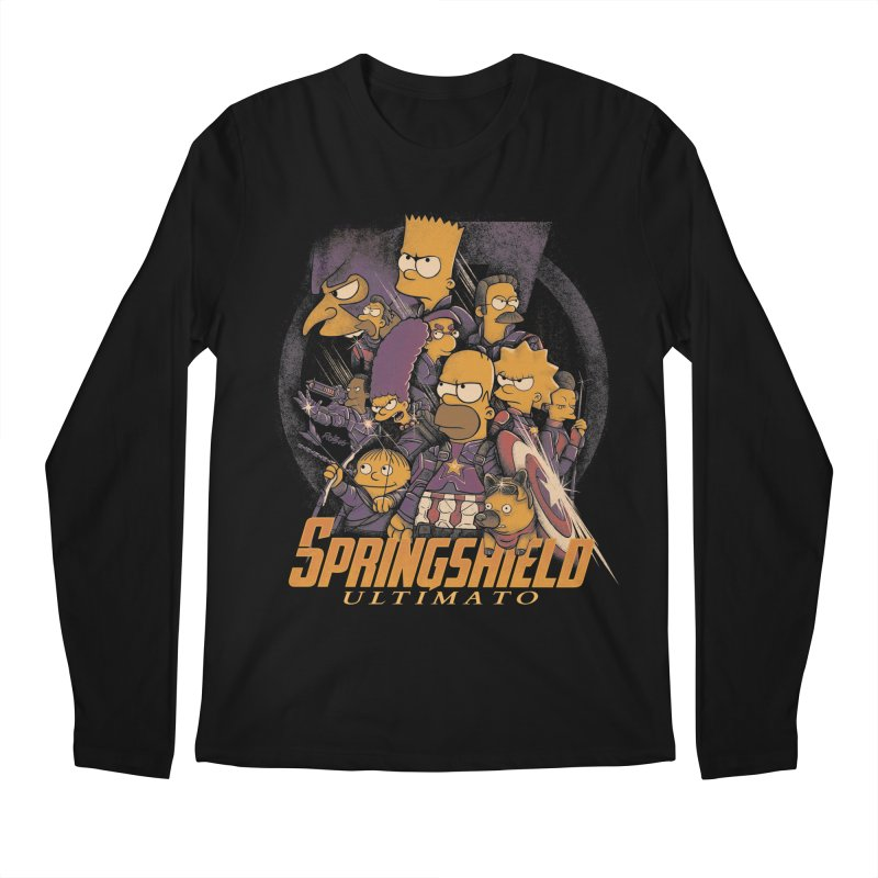 Springshield Men's Regular Longsleeve T-Shirt by Red Bug's Artist Shop