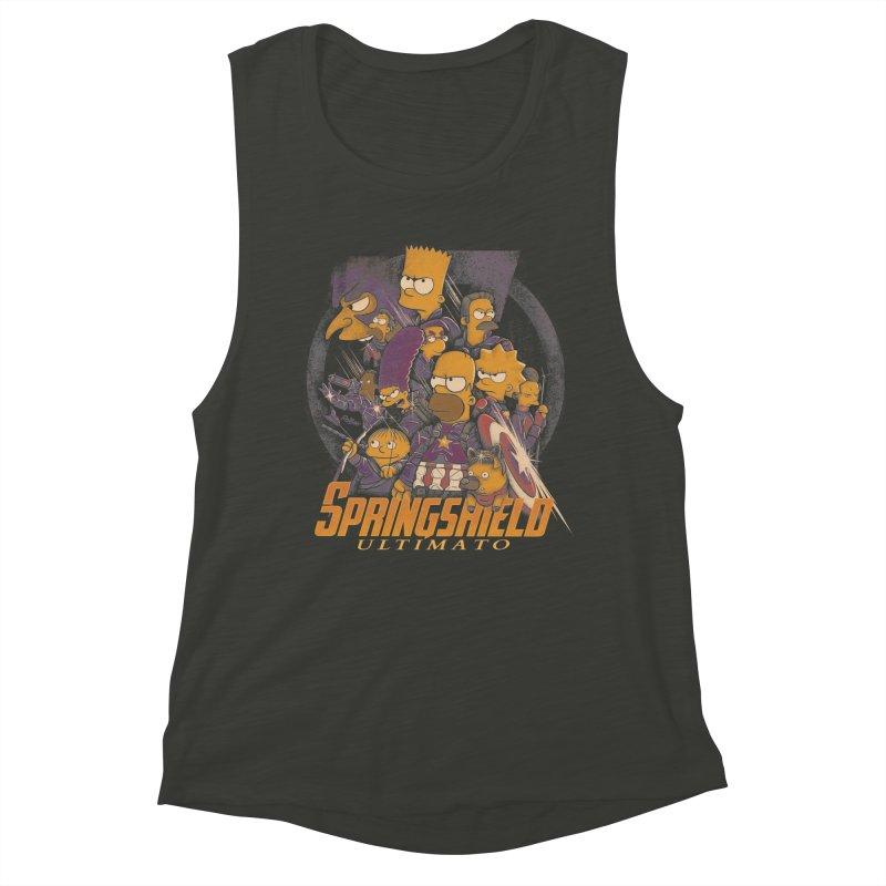 Springshield Women's Muscle Tank by Red Bug's Artist Shop