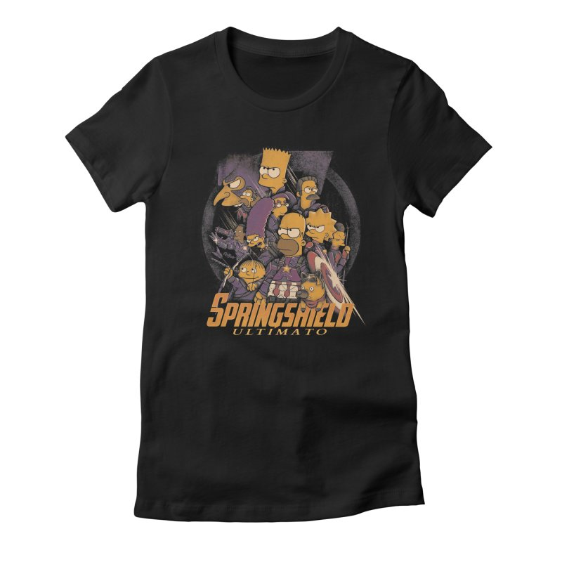 Springshield Women's Fitted T-Shirt by Red Bug's Artist Shop