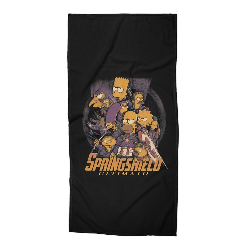 Springshield Accessories Beach Towel by Red Bug's Artist Shop