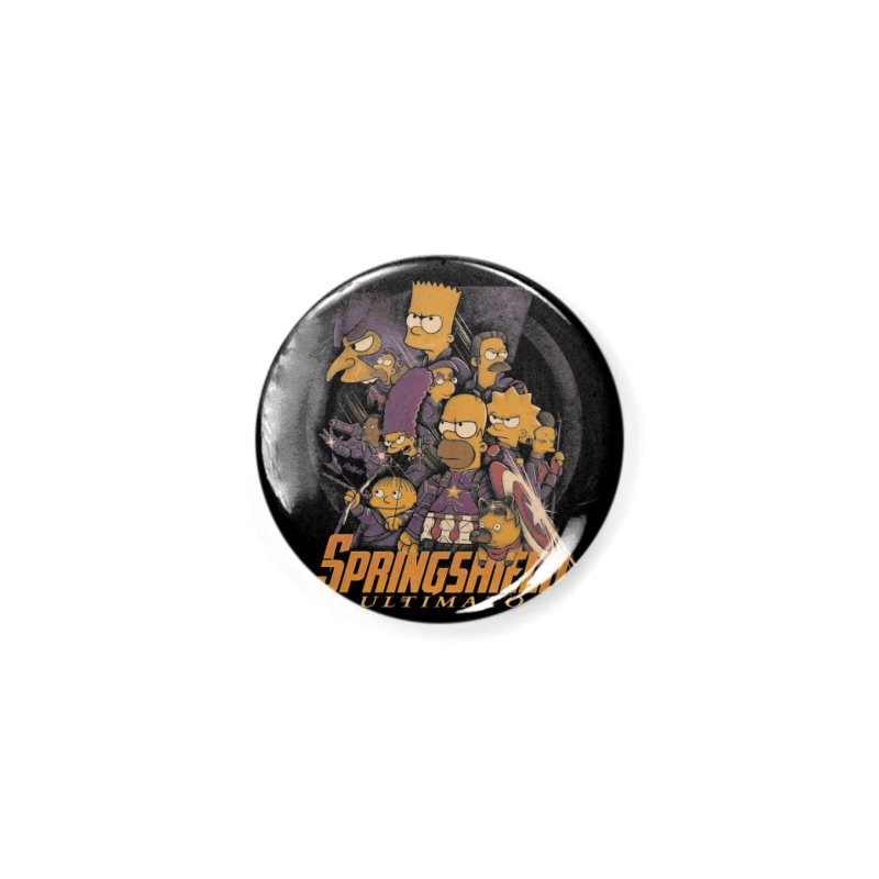 Springshield Accessories Button by Red Bug's Artist Shop