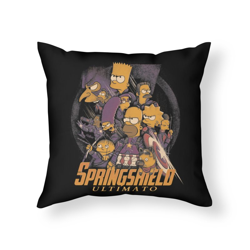 Springshield Home Throw Pillow by Red Bug's Artist Shop