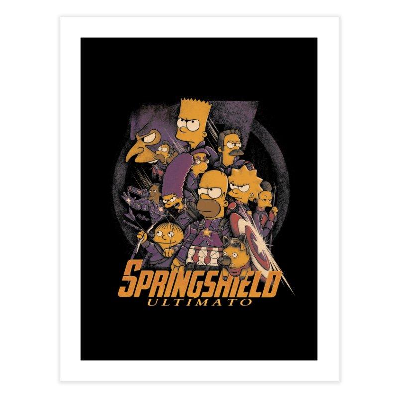 Springshield Home Fine Art Print by Red Bug's Artist Shop