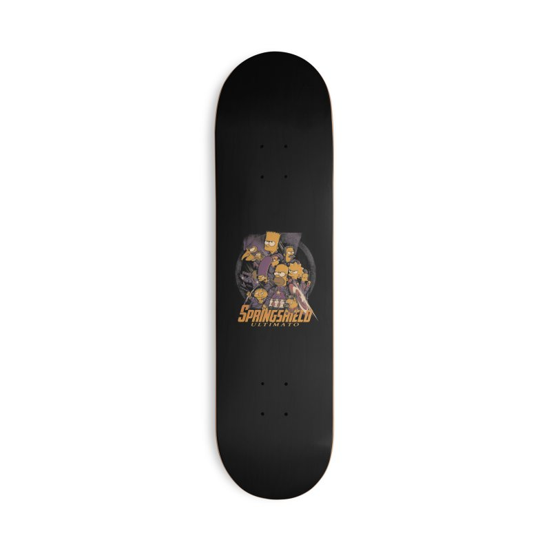 Springshield Accessories Deck Only Skateboard by Red Bug's Artist Shop