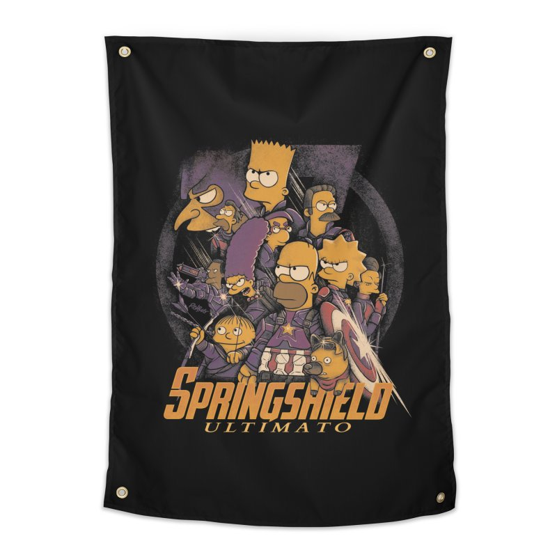 Springshield Home Tapestry by Red Bug's Artist Shop