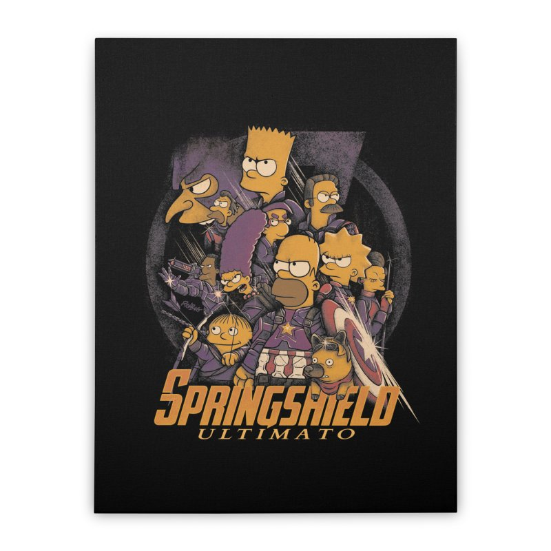 Springshield Home Stretched Canvas by Red Bug's Artist Shop