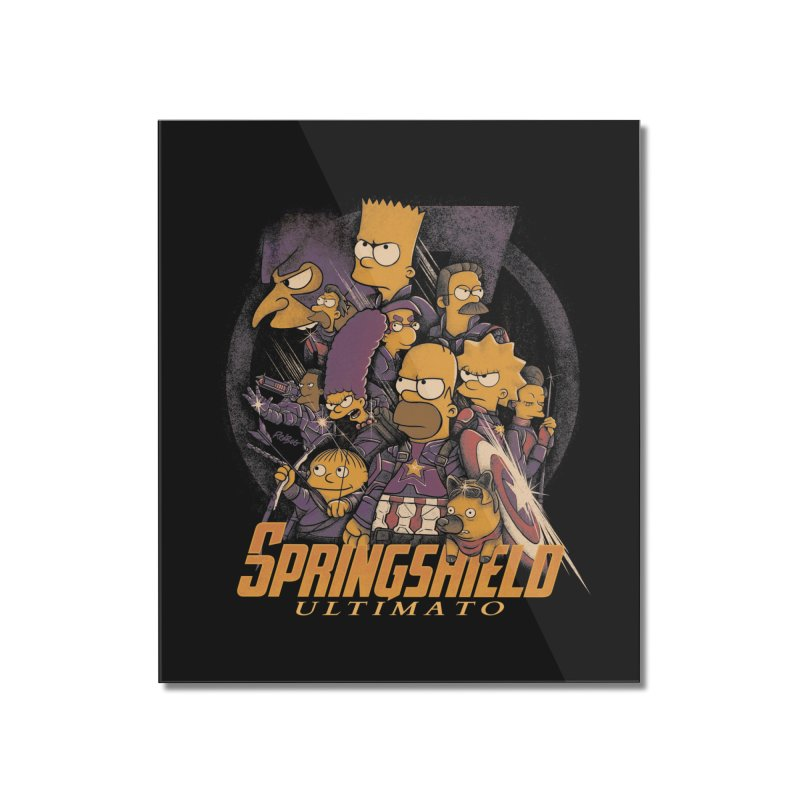 Springshield Home Mounted Acrylic Print by Red Bug's Artist Shop