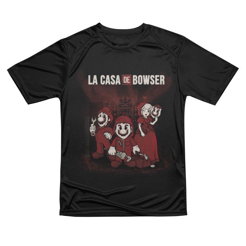 La Casa de Bowser Women's Performance Unisex T-Shirt by Red Bug's Artist Shop