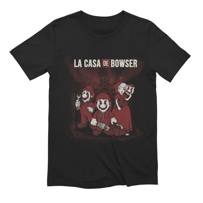 La Casa de Bowser Men's Extra Soft T-Shirt by Red Bug's Artist Shop