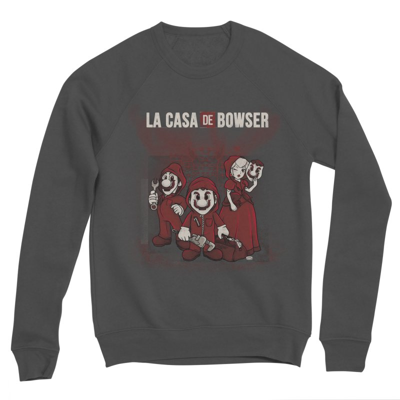 La Casa de Bowser Women's Sponge Fleece Sweatshirt by Red Bug's Artist Shop