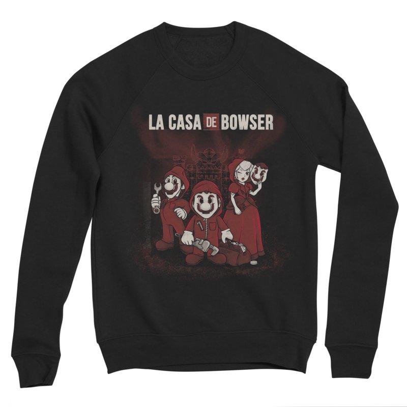 La Casa de Bowser Men's Sponge Fleece Sweatshirt by Red Bug's Artist Shop